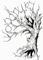 Woodbury Tree by TheIronClown