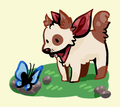 a lil pupper by Venterry
