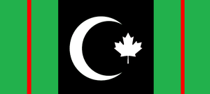 Flag of the Islamic Republic of Canada by wolfmoon25