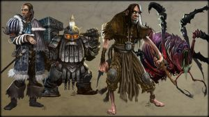 Character Design - (c) Paizo Publishing by helgecbalzer