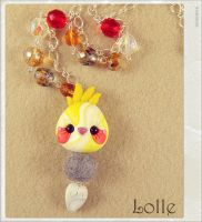 Clay Flurry Parrot by LolleBijoux