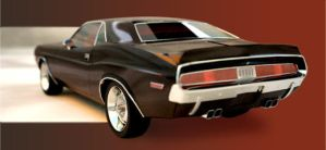 dodge challenger 1970 Hemi by Jay-Michael-Lee