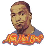 You Mad Bro? - Kendrick Perkins vector portrait by chadlonius