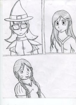 sideCharacters by Dinnermancer