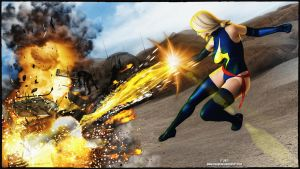 Ms Marvel Tank by tiangtam