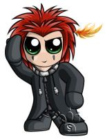 Axel Chibi by RedPawDesigns