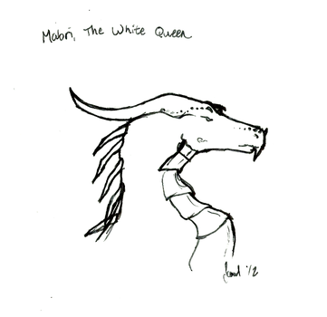 Mabri, the White Queen by the-scowling-cat