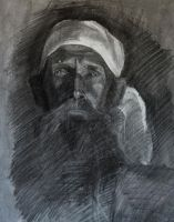 drawing of a man by Ashland-Academy