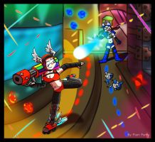 Kiriban Prize : Super Monday Night Combat by fiori-party
