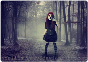 Circus Clown In The Woods by Joalita-lady