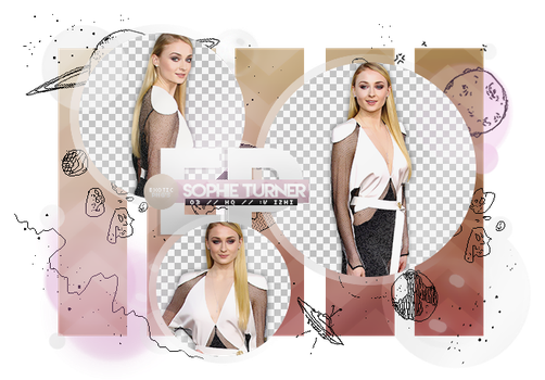 Pack Png 1950 // Sophie Turner by ExoticPngs