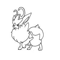 fakemon jackalope by Pixel--Pete