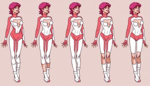 Tina costume concepts by Wunderchivo 2/2 by almond077