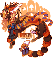 Grotte Primal Pumpking Auction (CLOSED) by LilKyubee
