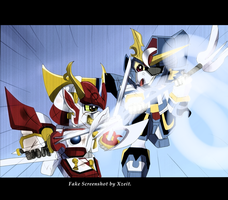 SD Gundam Force Anime Screenshot by Xzeit