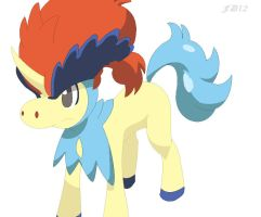 .:Keldeo:. by FoxDemon12