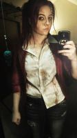 Claire Redfield Selfie ! by VengefulxRaven