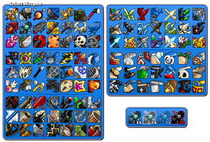EBF5: Weapon Icons by KupoGames