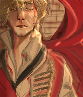 After Death: Enjolras by Chaltiere