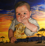 Comission Baby Portrait by Nigma32