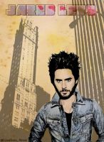 Poster Jared Leto by lovelives4ever