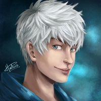 RotG - Jack Frost painting by msloveless