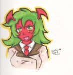 Scanty - Colored with my markers~ :D by the-neko-maki-chan