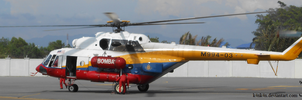 Helicopter 20150410 _ fire patrol by K4nK4n