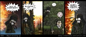 MGS3:Blowing Up by ebbewaxin