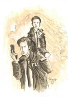 Mulder + Cooper by Boatwright by TheDeviantMakepeace