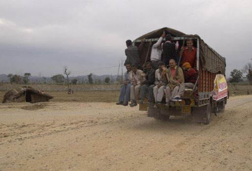 Public transport in India by spacejunior