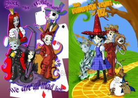 Fairy Tales from Halloweentown by TamarinFrog