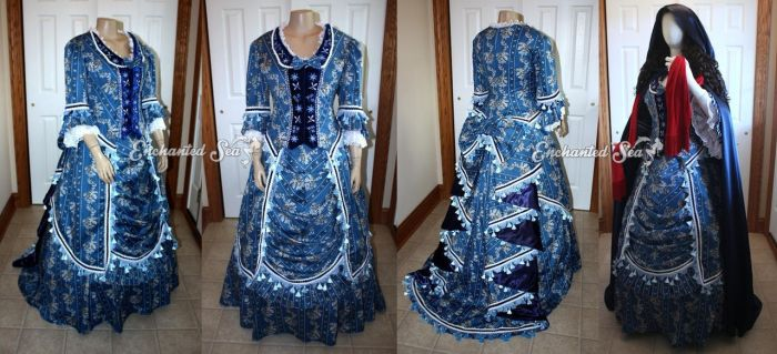 Wishing Gown No.2 UK Version and Cloak by enchantedsea