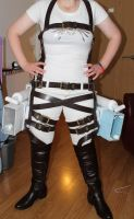 Attack on titans cosplay WIP by smallfry09
