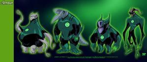 Retrowork: Green Lanterns... by tnperkins