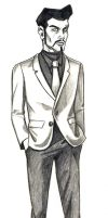 Daily Sketches Ramone Dexter by fedde