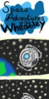 Space Adventures With Wheatley by ShadowSilverfan1997