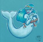 Beluga Mermaid by Mermaid-Kalo