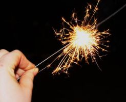 Sparklers by PhotoHunny