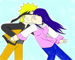 Naruhina: Don't Leave Me Color by xmizuwaterx