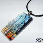 Tree of Life Glass Pendant by Create-A-Pendant
