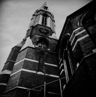 Church tower by lostknightkg