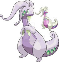706 - Goodra by Tails19950