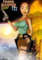 Tomb Raider 3 - Adventures of L. C. fanmade poster by Roli29