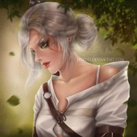 Ciri by Nindei
