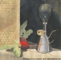Watercolor Painting Still Life 1 by RaptorArts