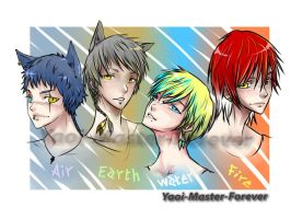 The Four Elements by Yaoi-Master-Forever