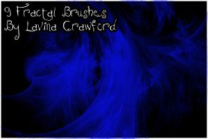9 Fractal Brushes by lavina15