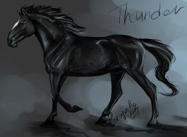 Thunder by Percyvelle