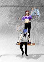 Alone Together....in the rain! by chainedname